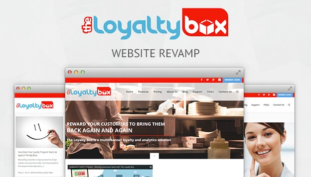 The Loyalty Box Website