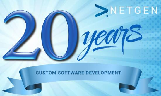 20 years of bespoke software with Netgen