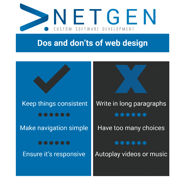 Do's and dont's of Web Design