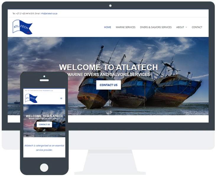 WordPress website example screenshot