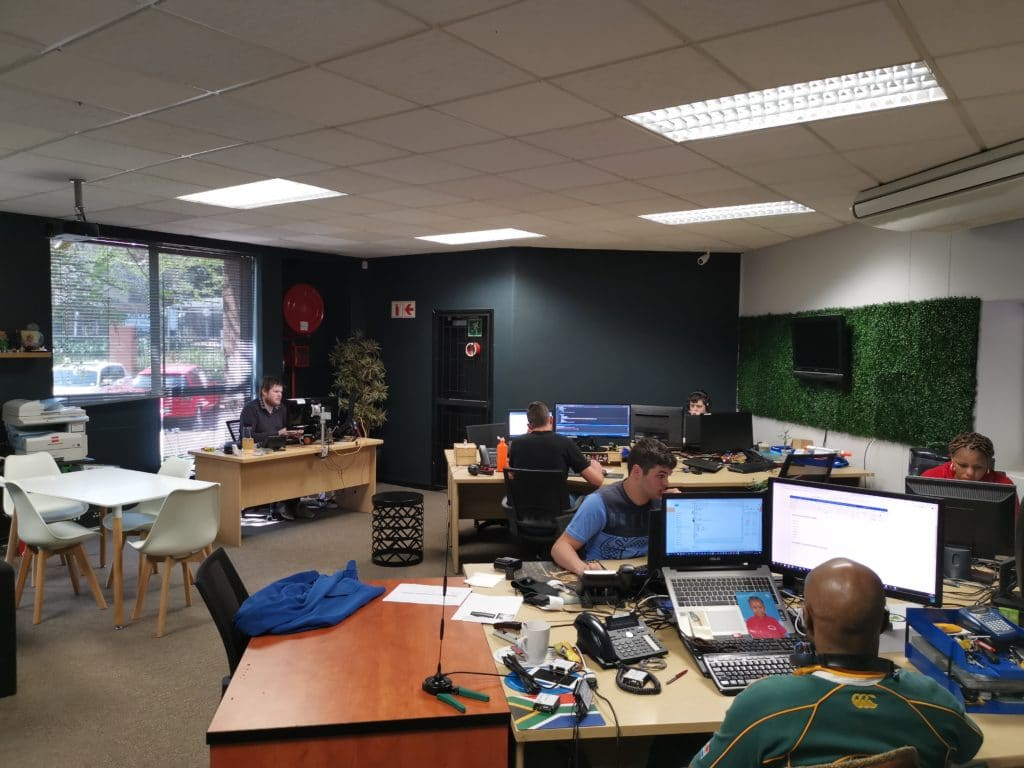 Main office in Netgen Johannesburg office