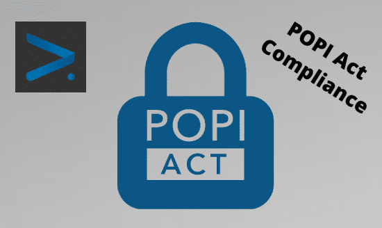 important online security considerations for POPI