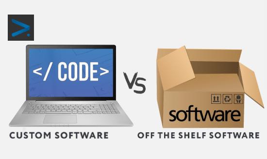 custom software vs off-the-shelf